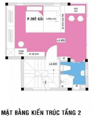 tư vấn thiết kế nhà 4 tầng hình vuông